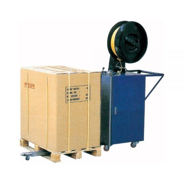 batterystrapping.com-COMBO-Pallet Semi-automatic-Strapping-Machine