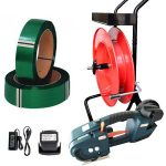 Battery strapping tool TES set PET strap + dispenser + battery + charger