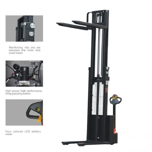 Electric-stacker-3500mm-350cm-1500kg-cheap