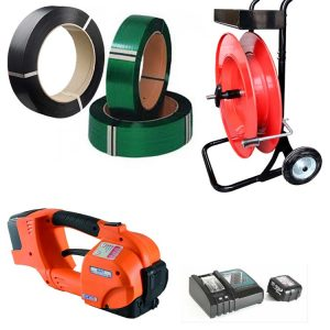 Battery strapping sets
