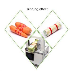 ECOBAND-S Paper & OPP banding machine biding effect