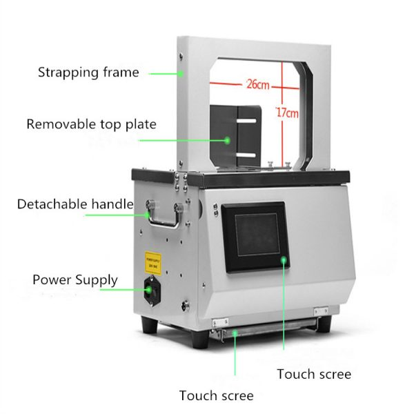Ecoband-automatic-paper-banding-machine-touch-screen