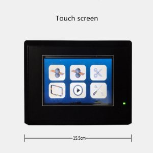 ECOBAND-S Paper & OPP banding machine touch screen display