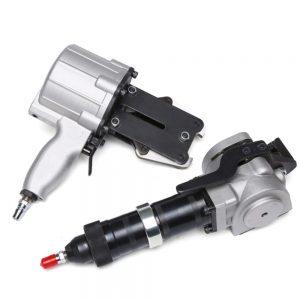 AIR DUO32 pneumatic steel tensioner & padlock