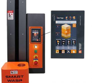 Intelligent Pallet Wrapper SMARTWRAP-X PRE-STRETCH screen