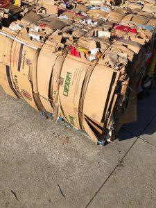 Vertical baler 20 tons TONNA20 bale